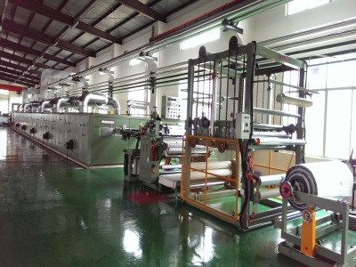 PVC/PU Artificial Leather Production Line